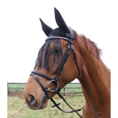 Ušaňa na kona so strapcami