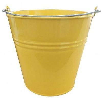 Vedro GECO 7l žlté kovové