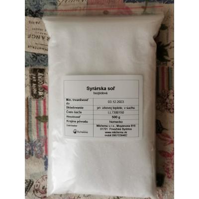 Syrárska soľ 500g
