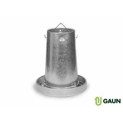 Krmítko kovové 10kg Gaun 11110